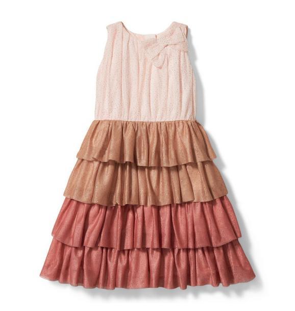 Kristian Loren Glitter Tulle Dress