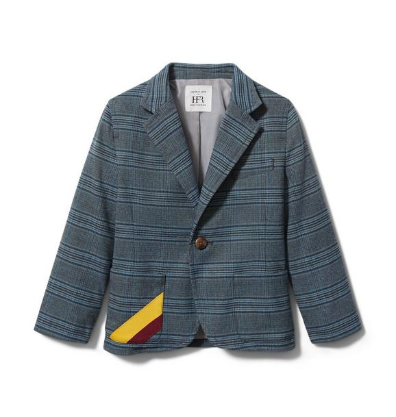 Janie and Jack Richfresh Plaid Blazer