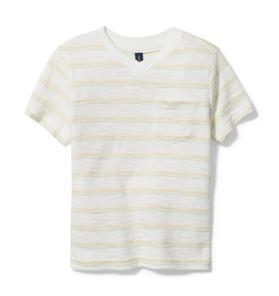 Rachel Zoe Striped Slub Tee