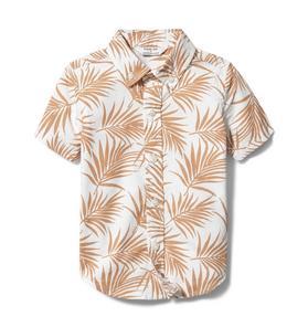 Rachel Zoe Palm Print Shirt