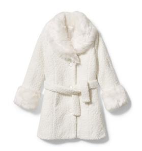 Rachel Zoe Boucle Sherpa Coat