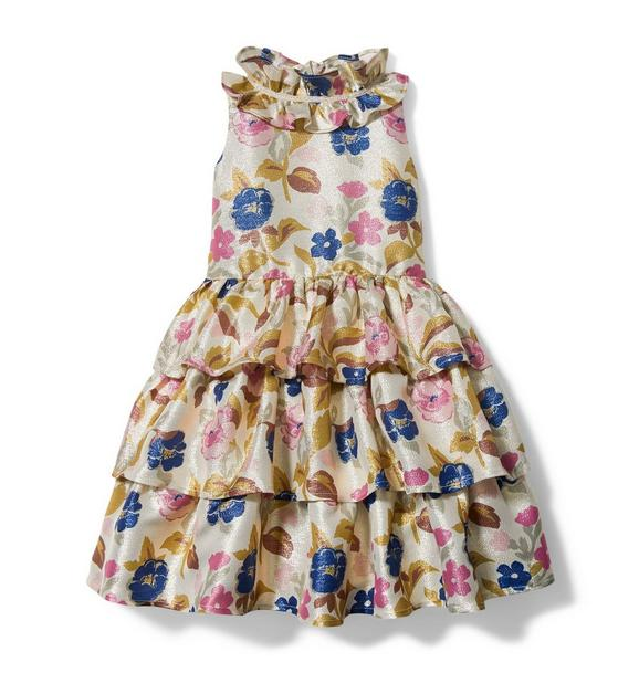 Janie and Jack Rachel Zoe Floral Tiered Dress