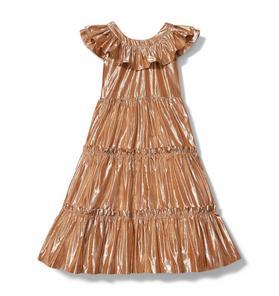 Rachel Zoe Metallic Midi Dress