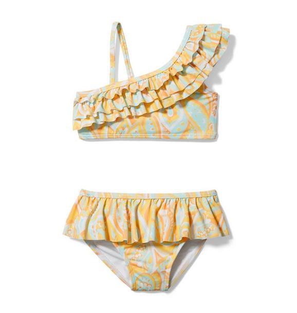 Rachel Zoe Paisley 2-Piece Swimsuit