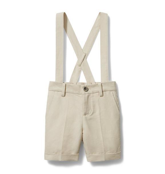 Linen Suspender Short