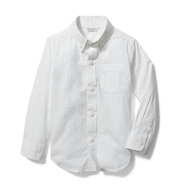 Dot Poplin Shirt