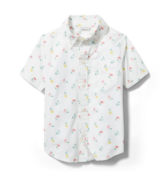 Ditsy Floral Poplin Shirt