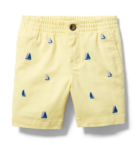 Sailboat Twill Short