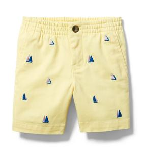 Sailboat Twill Short