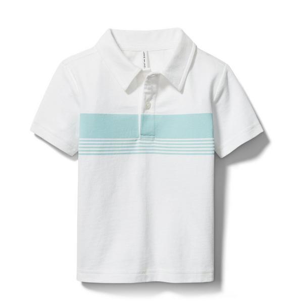 Stripe Jersey Polo