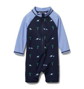 Baby Dinosaur Rash Guard Swimsuit