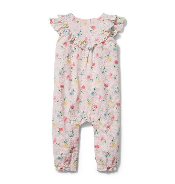 Baby Floral Eyelet 1-Piece