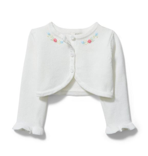 Baby Embroidered Cardigan