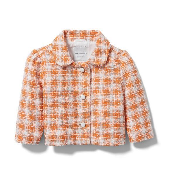 Plaid Bouclé Jacket