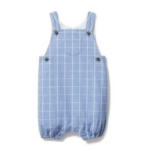 Baby Windowpane Shortall