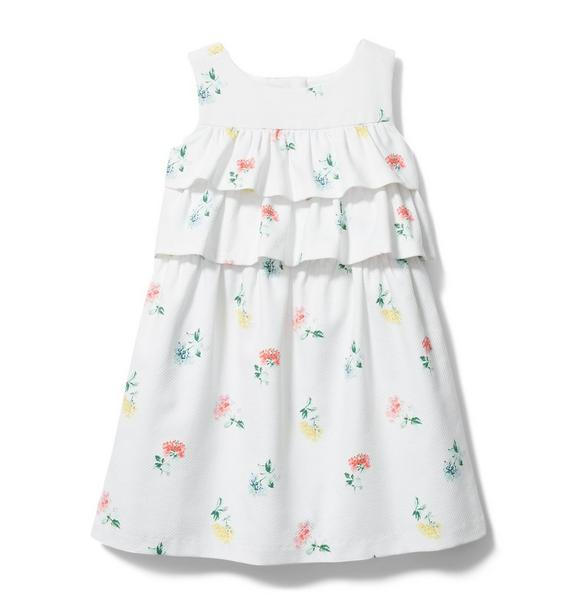 Ditsy Floral Tiered Ruffle Dress
