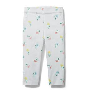 Ditsy Floral Sateen Pant