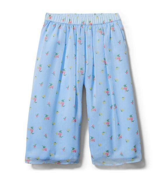 Ditsy Floral Wide Leg Pant