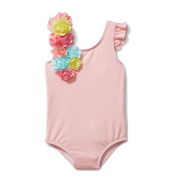 Rainbow Flower Swimsuit