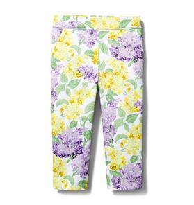 Floral Sateen Pant