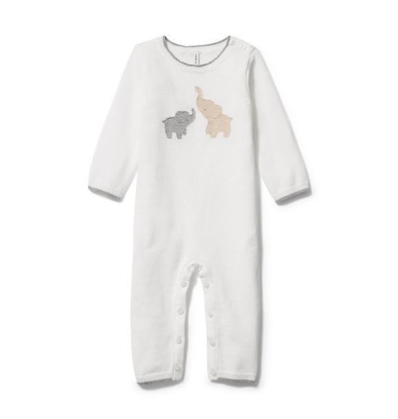 Baby Elephant Sweater 1-Piece