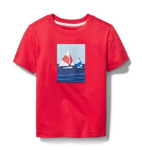 Janie and Jack Sailboat Tee