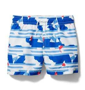 Boat Swim Trunk