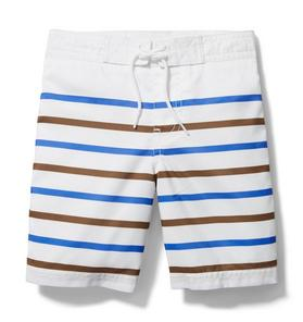 Striped Board Short