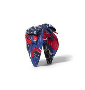 Floral Lurex Bow Headband