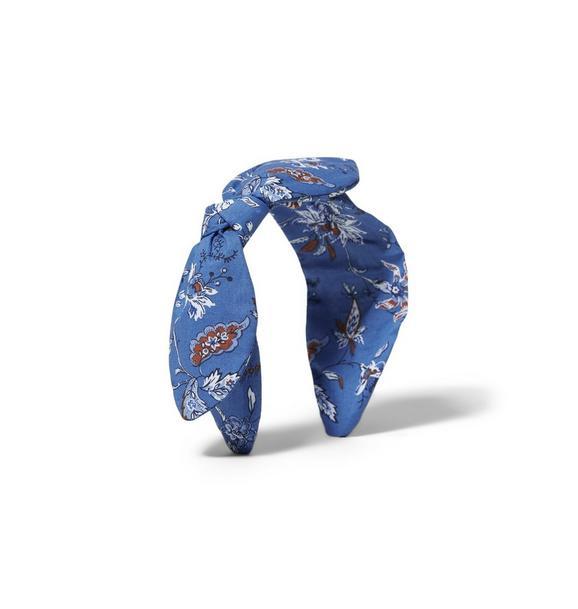 Paisley Floral Bow Headband