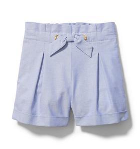 Cuffed Oxford Short