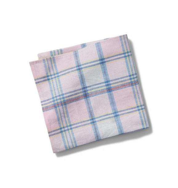 Plaid Pocket Square