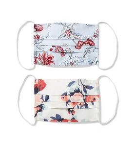 Kid Floral And Rose Mask 2-Pack