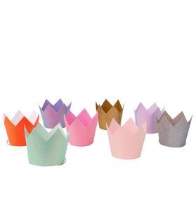 Meri Meri Glitter Party Crown Set