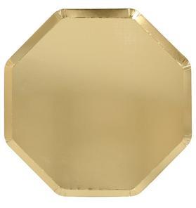 Meri Meri Gold Dinner Plate Set