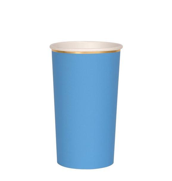 Meri Meri Blue Highball Cups