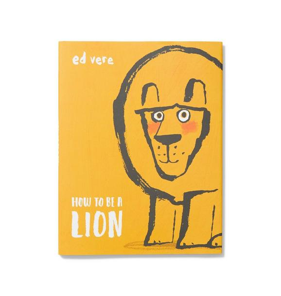 Janie and Jack How To Be A Lion Book