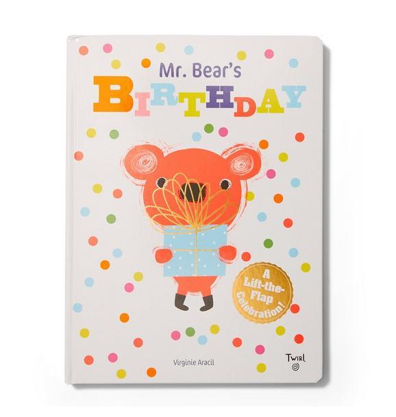 Janie and Jack Mr. Bears Birthday Book