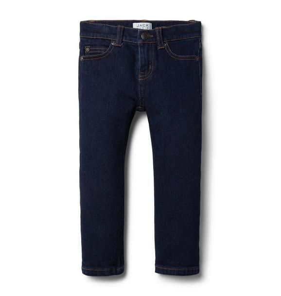 Straight Jean In Rinse Wash