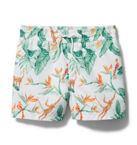 Tropical Swim Trunk