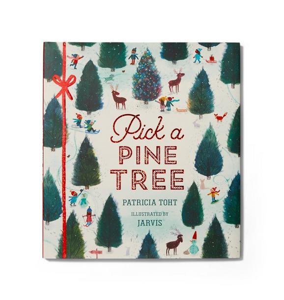 Janie and Jack Pick A Pine Tree Book