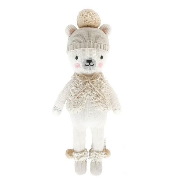 Cuddle + Kind Small Stella Polar Bear Doll