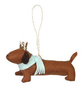 Meri Meri Sausage Dog Ornament