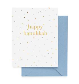 Sugar Paper Happy Hanukkah Card