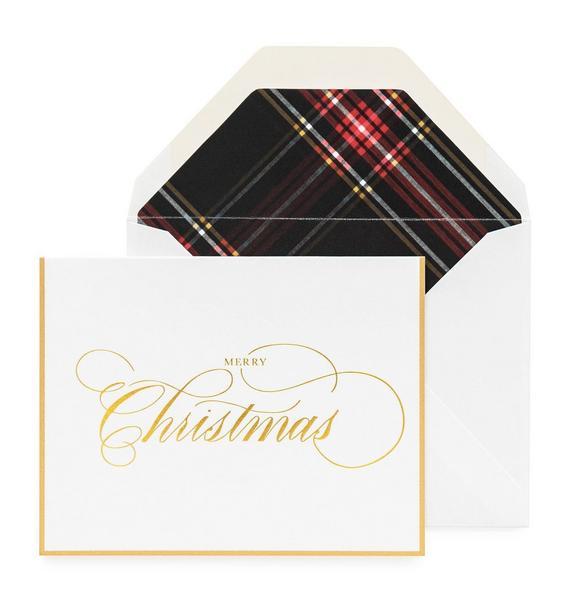 Sugar Paper Merry Christmas Card