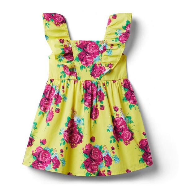 Disney Alice in Wonderland Floral Dress