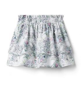 Disney Alice in Wonderland Floral Tiered Skirt