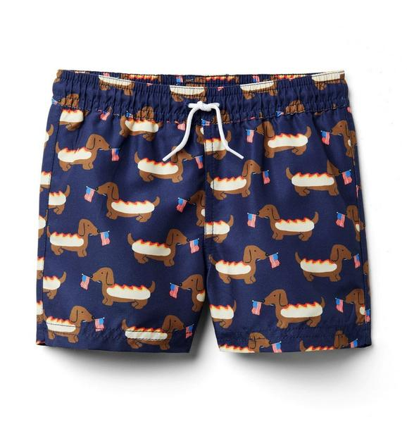 Hot Dog Swim Trunk