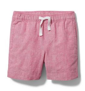 Linen Pull-On Short