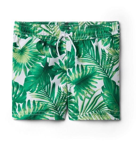 Palm Swim Trunk